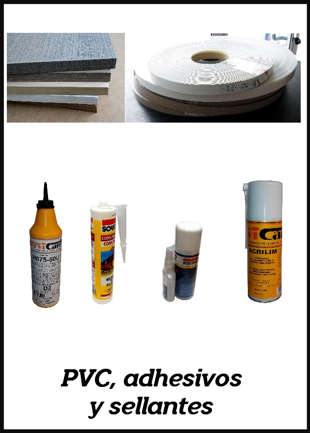PVC, Adhesivos y Sellantes