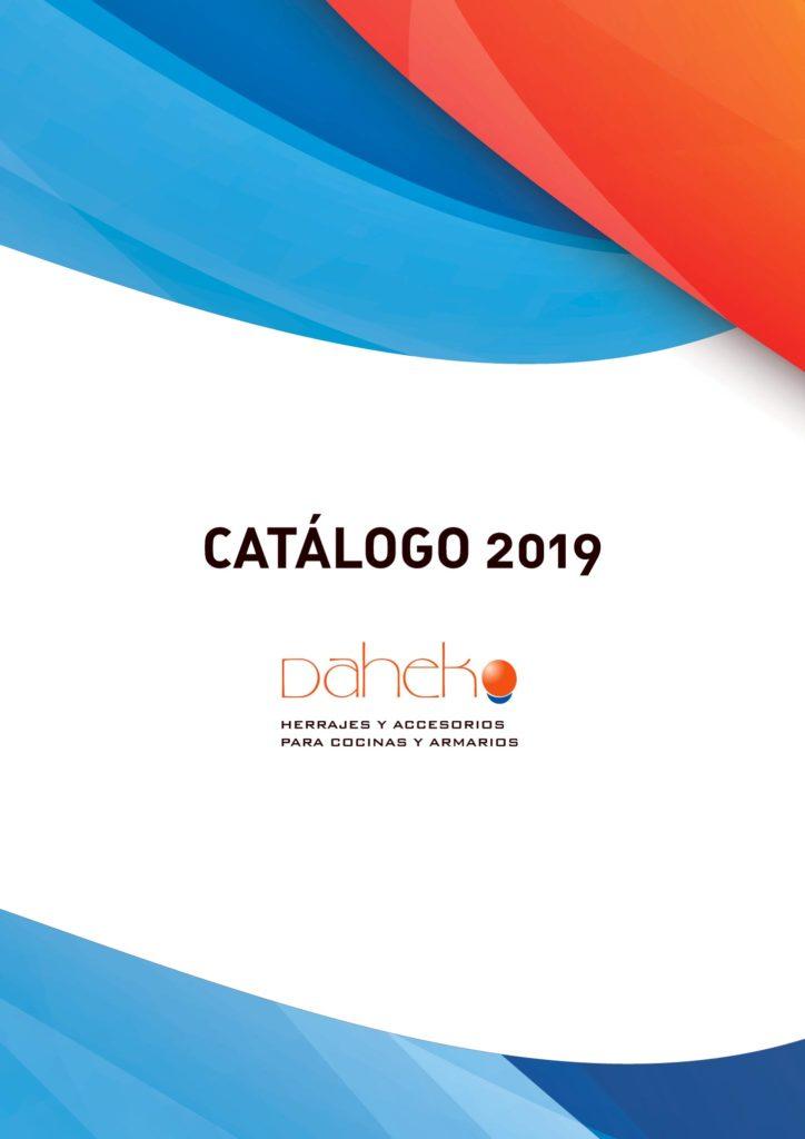 portada catálogo Daheko 2019